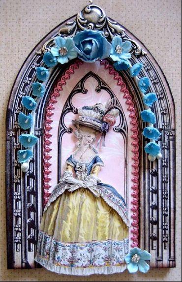 Мария-Антуанетта в работах Терри Гордон