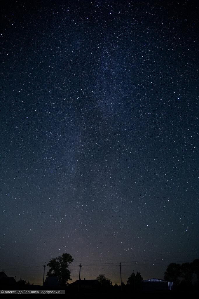 Сентябрьское ночное небо