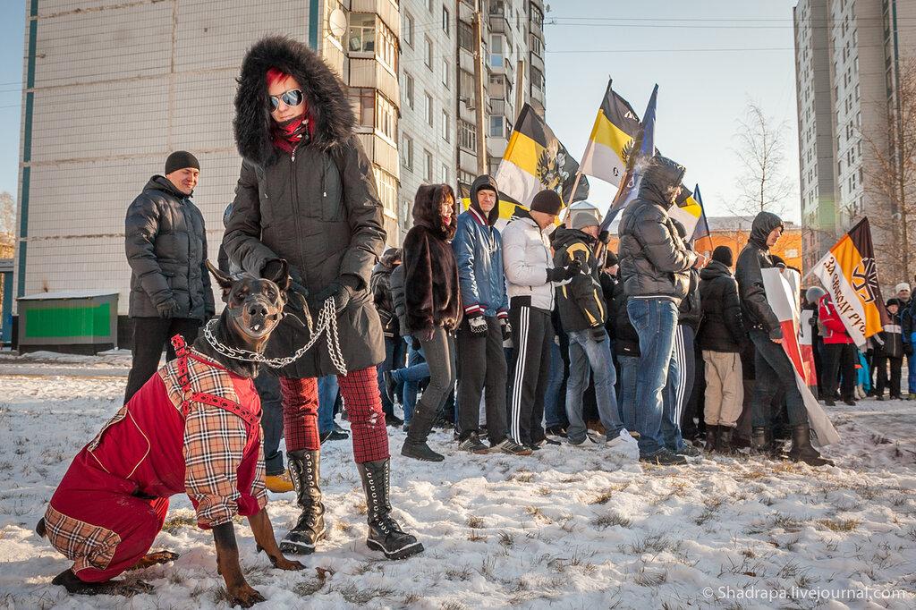 Нижневартовск. Лица нации. Наш русский марш