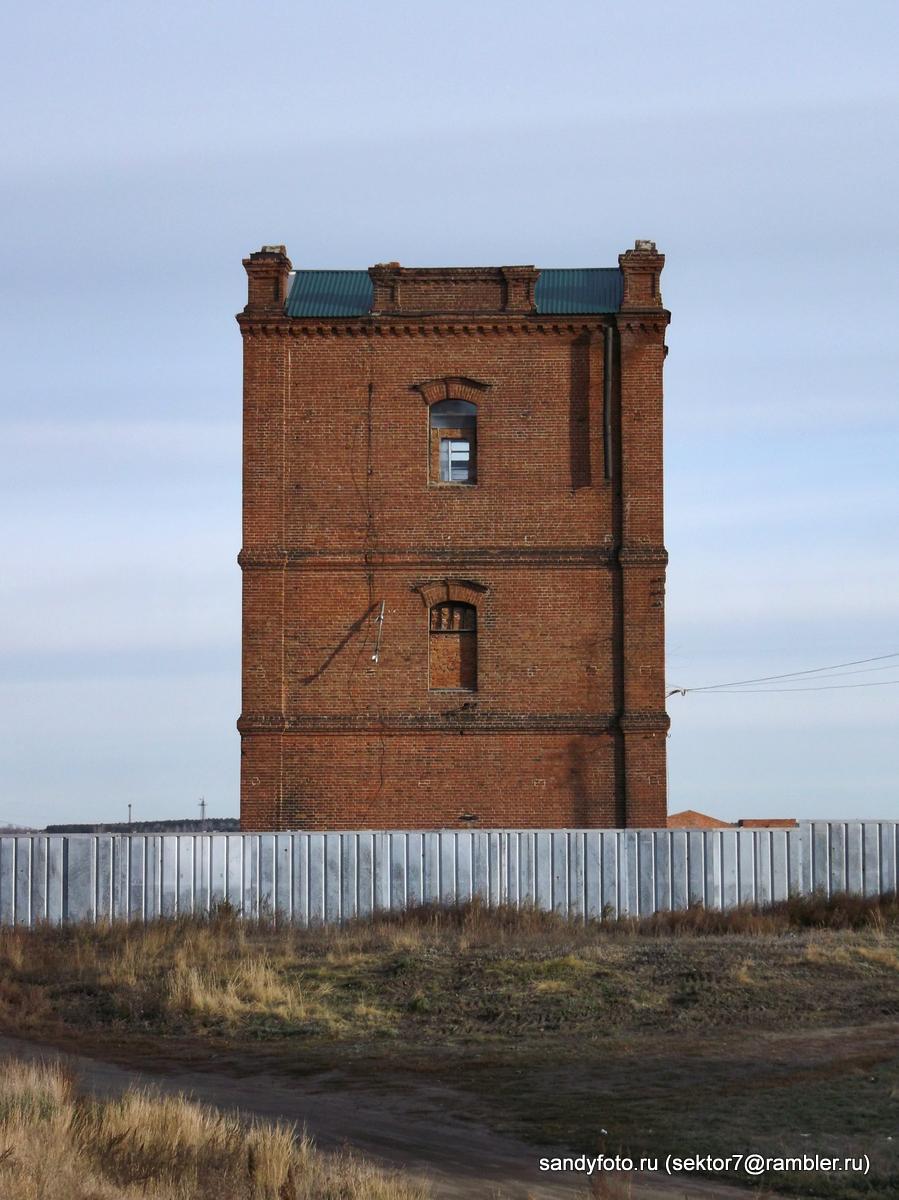 Водонапорная башня на Мяскомбинате