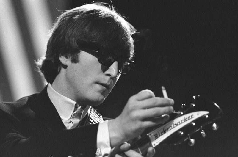 John 'Hoppy' Hopkins.John Lennon