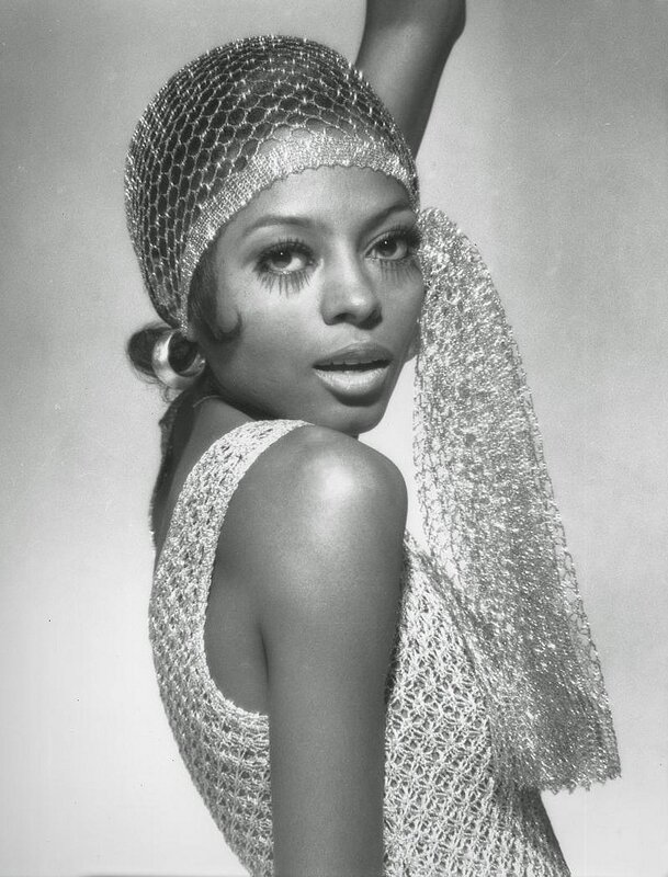 Singer Diana Ross photographed by Michael Ochs