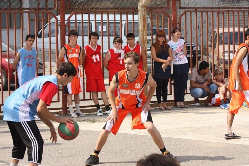 стритбол, баскетбол, дагестан, махачкала, дагестанцы. Фото: Гамид Гитинов