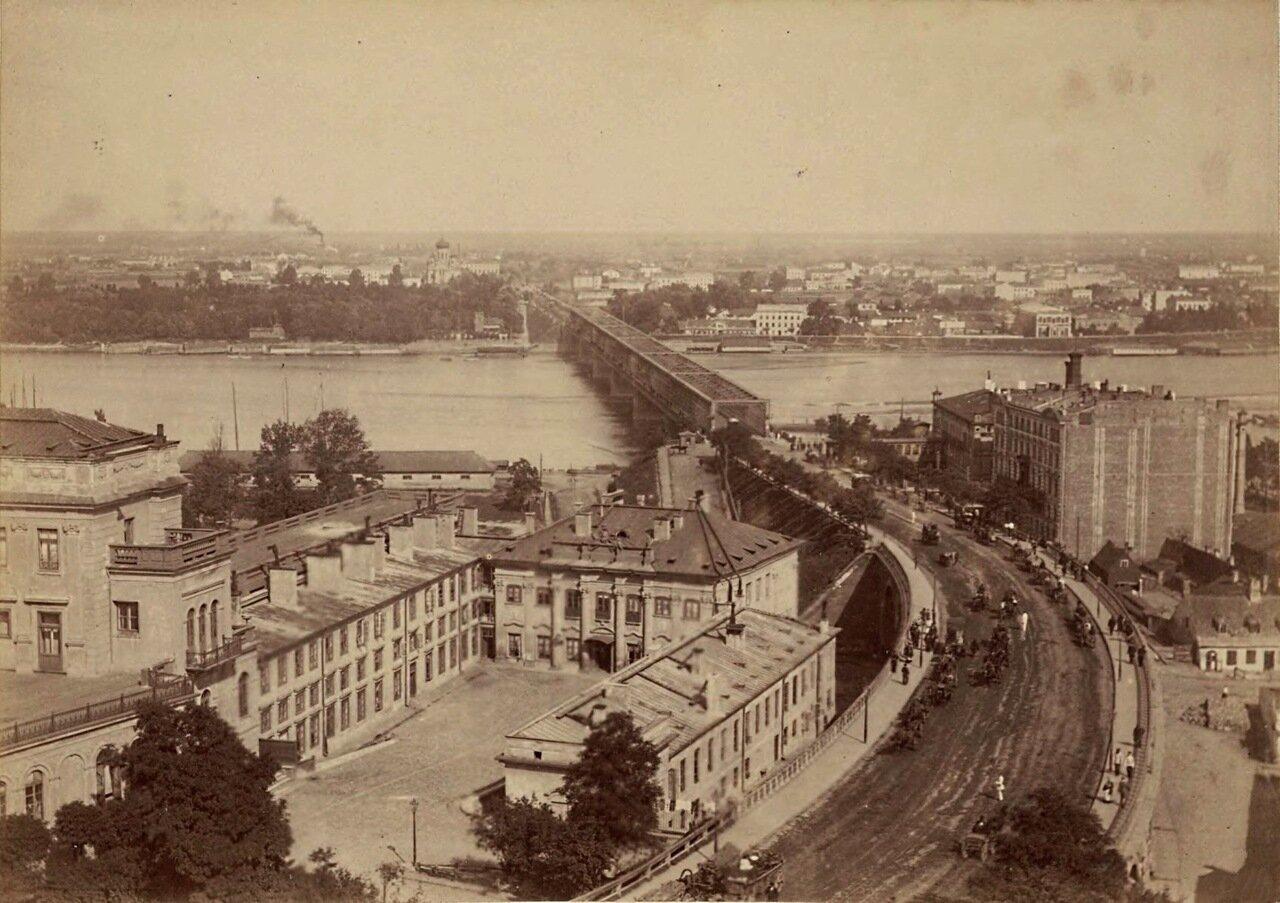 Королевский замок и Александровский мост. 1870