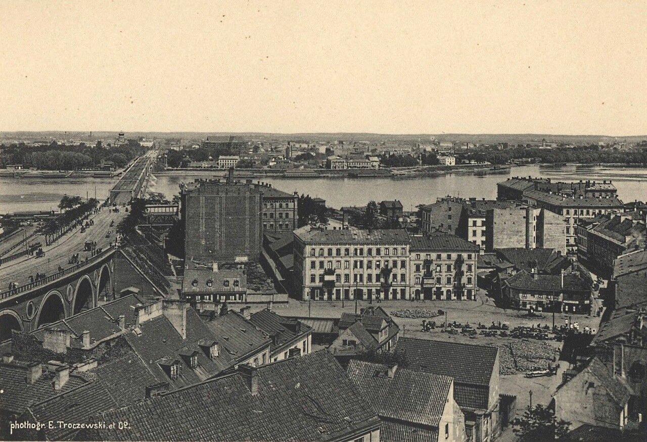 Вид на Александровский мост и Пражское предместье 1885