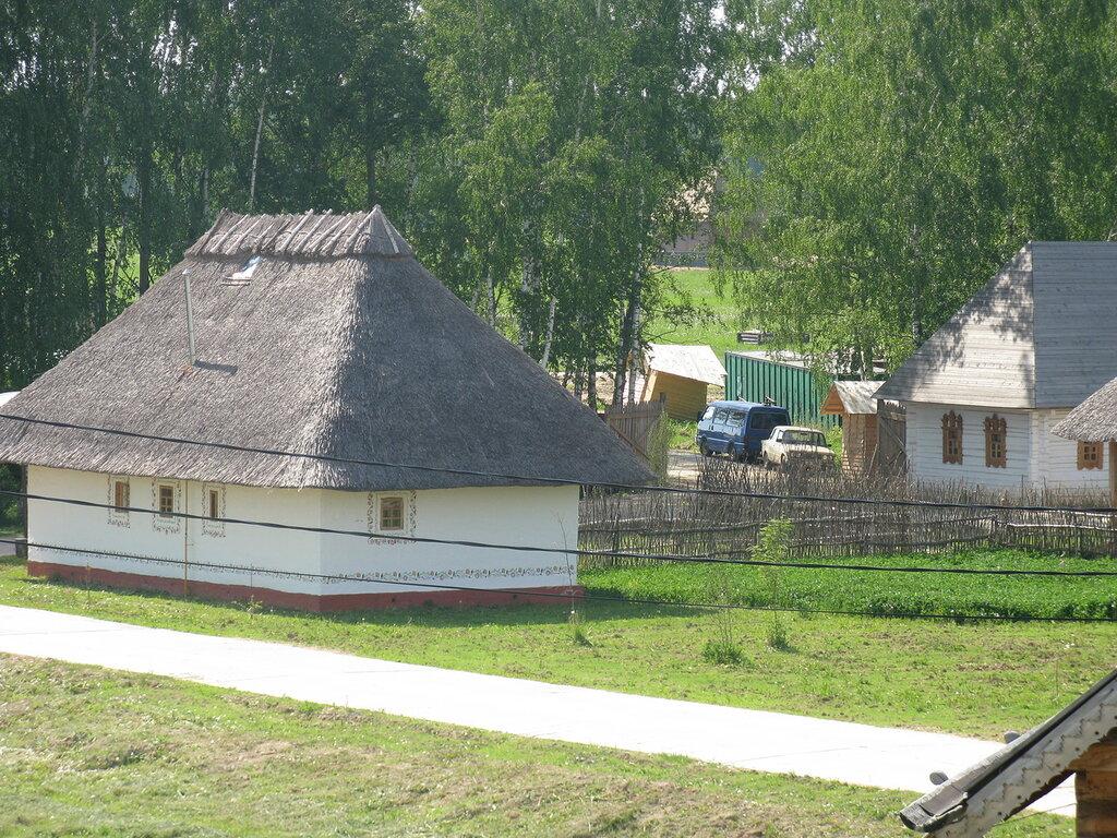 Украинская изба.