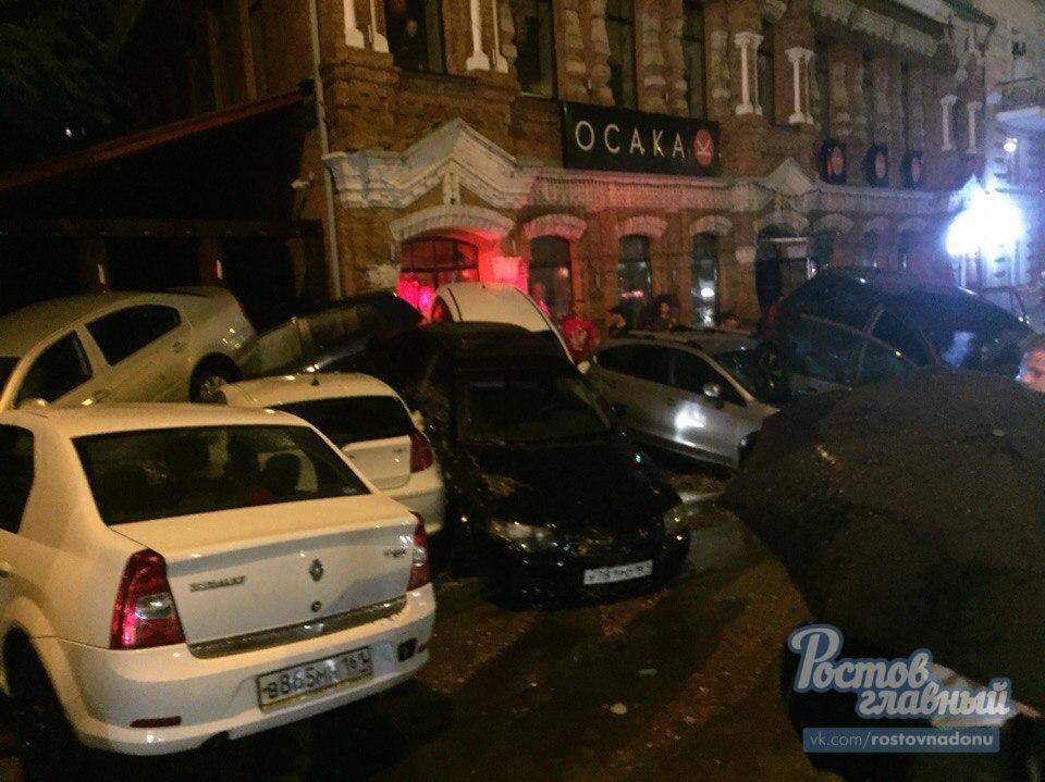 Ростов затопило, наводнение в городе