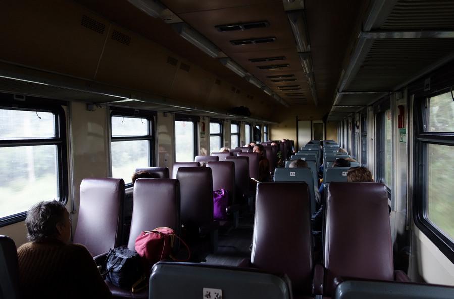 в вагоне на Кузнечное