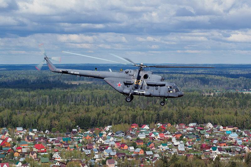 Миль Ми-8АМТШ (RA-91136 / 82 желтый) ВКС России D802841