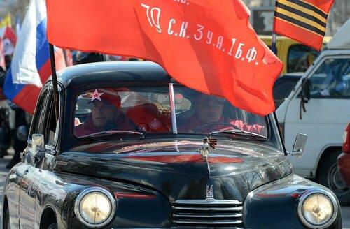 В Крыму проходит ретроралли с советскими авто