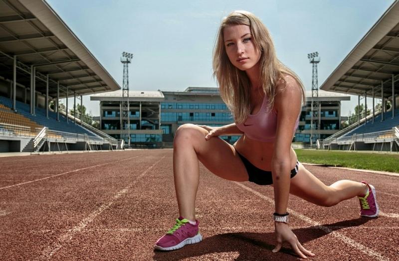 Казахстанская бегунья решила поддержать легкую атлетику откровенной фотосессией