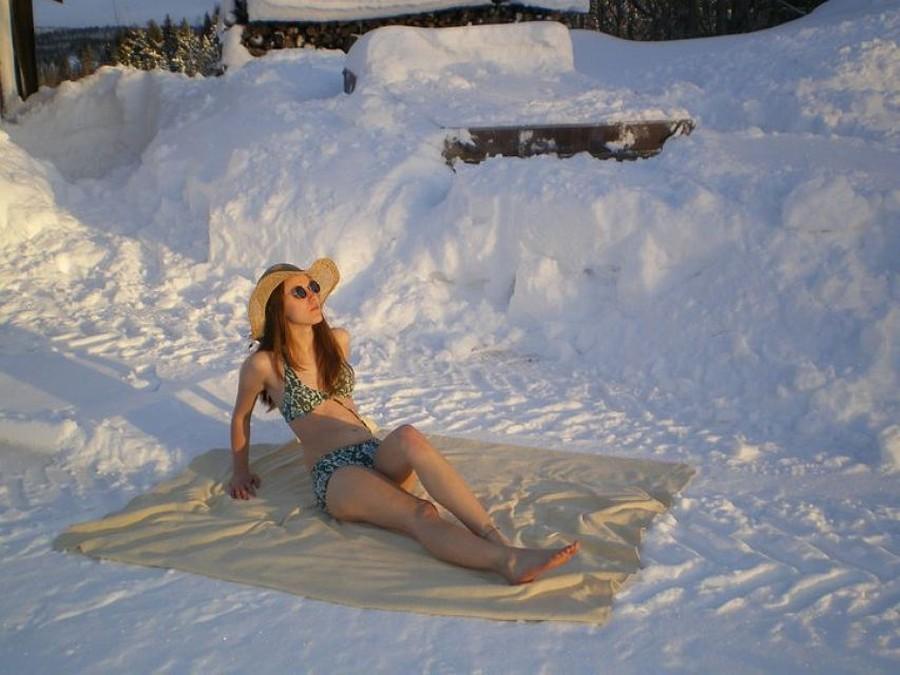 Отпуск зимой картинки смешные
