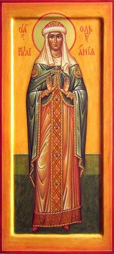 Святая Праведная дева Иулиания, Княжна Ольшанская.