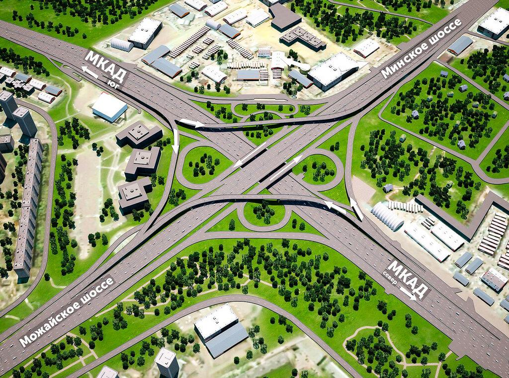 Проект развязки МКАД —Можайское шоссе