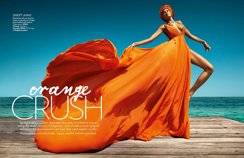 VOGUE India Orange Crush Rob Dewey