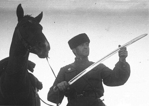Как красная кавалерия воевала против немецких танков