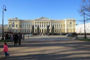 Достопримечательности Санкт-Петербурга: Михайловский дворец и Русский музей
