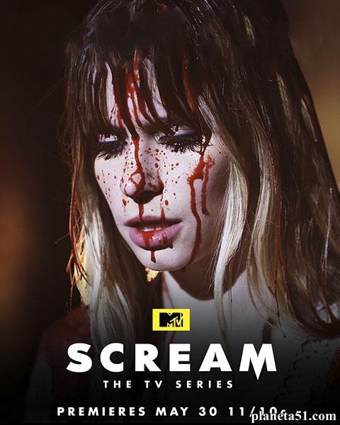 Крик (1-2 сезоны: 1-22 серии из 22) / Scream / 2015-2016 / ПМ (LostFilm) / WEB-DLRip + (720p)