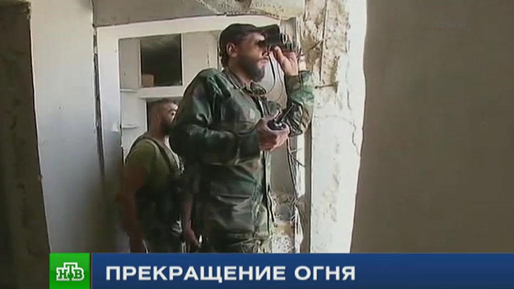 ВВС: первые часы перемирия вСирии прошли спокойно