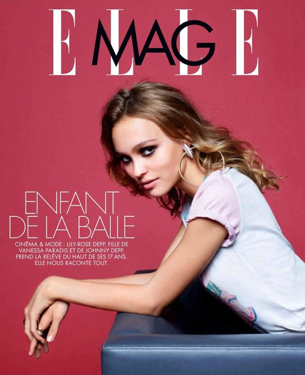 Лили-Роуз Депп в Elle France