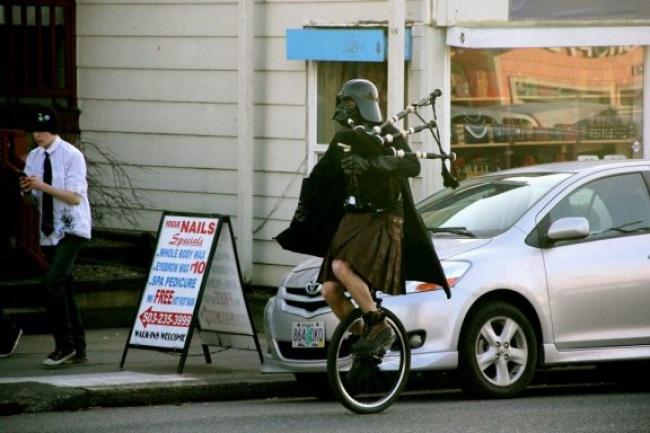 Межгалактические экскурсии поШотландии. Недорого.