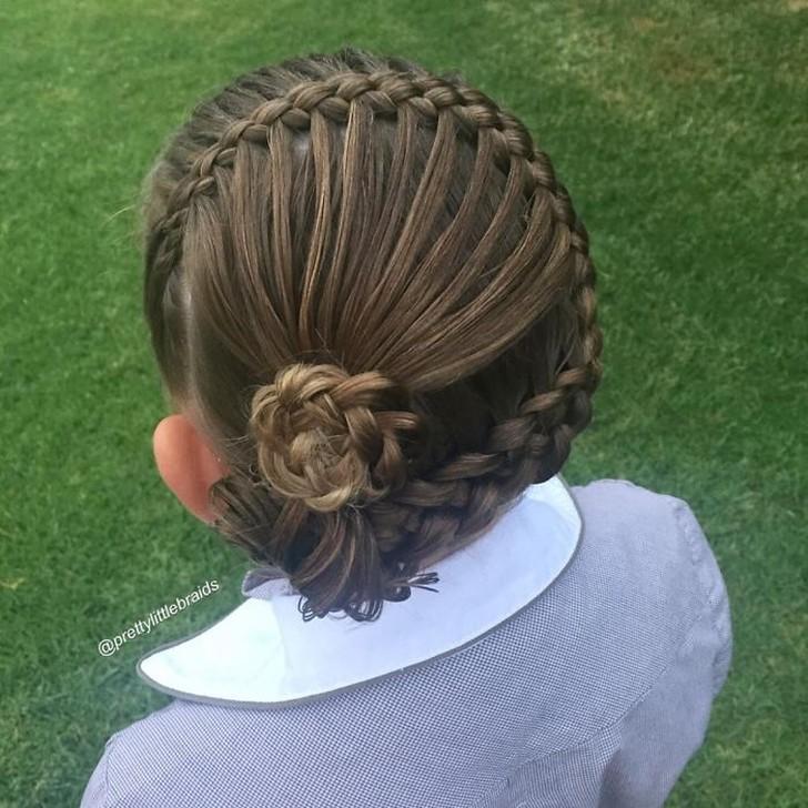 Грейс отлично справляется с этим! Я тренируюсь на ее волосах с тех пор, как они достигли достаточной