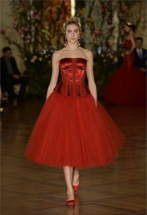 Неделя высокой моды: Dolce & Gabbana Alta Moda весна-лето 2015