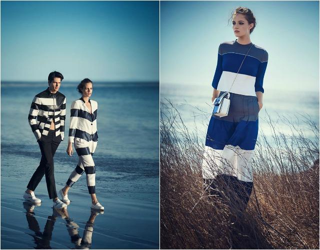 Фото рекламной кампании Giorgio Armani весна-лето 2015 точно вызывают зависть — именно сейчас, когда