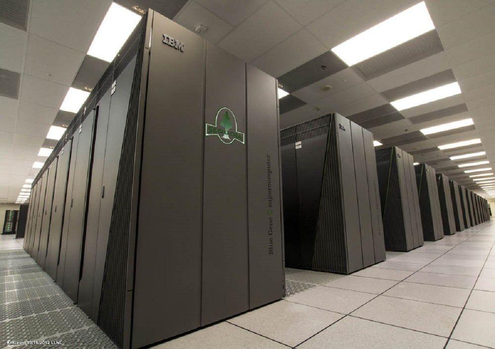 5. Sequoia BlueGene/Q (США) — 250 млн долларов Суперкомпьютер Sequoia класса BlueGene/Q был разработ