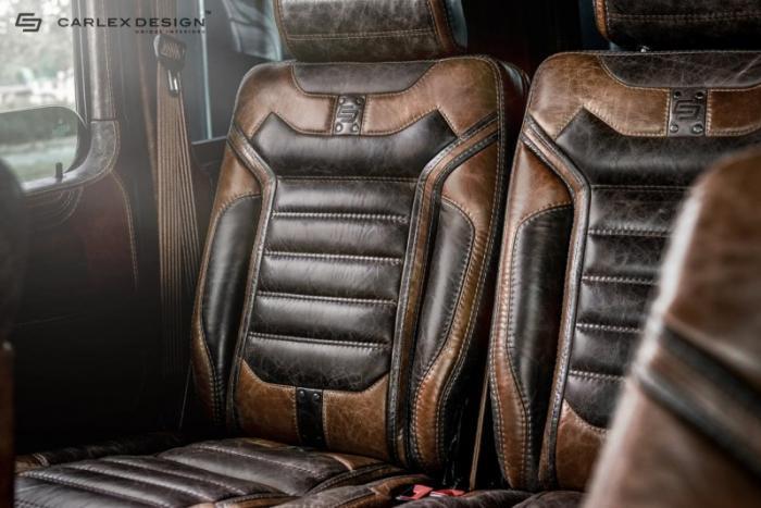 Шикарный винтажный салон для Mercedes-Benz G-Class
