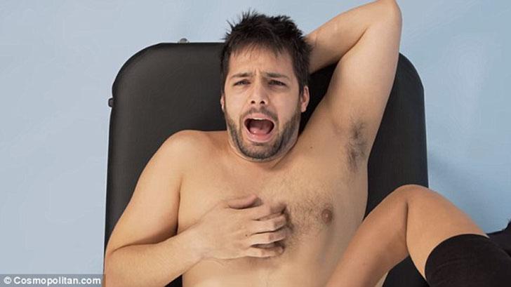 Больно мне, больно: как мужчинам делают эпиляцию зоны бикини (10 фото)