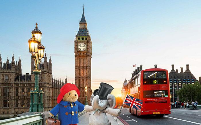 Посетить Лондон.