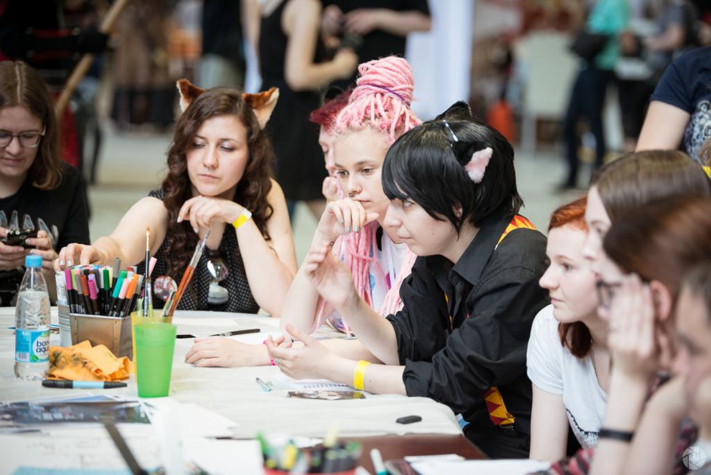 Чудак на букву «г»: гики Mosсow Comic Convention