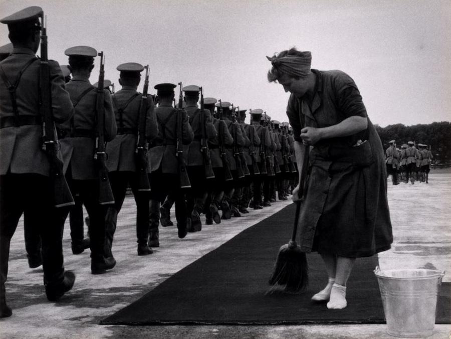 Бой быков в Валенсии, 1964.