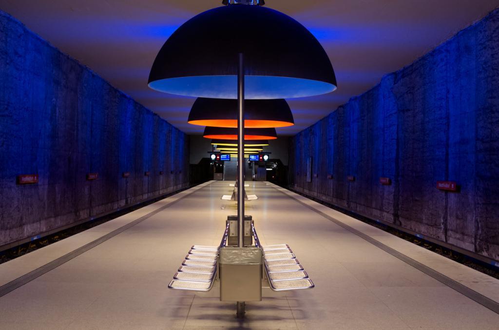 Германия. Мюнхен. Станция Вестфридхоф. (ChrisPentax)