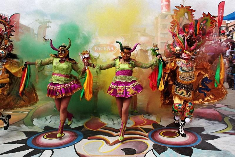 14. Дьяволицы появились в танцевальных группах лишь во второй половине ХХ века (но сначала в женских