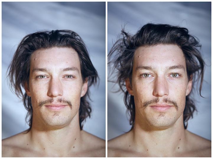 На создание фотопроекта «Обнаженные лица» (Naked Faces) Дилана вдохновил вопрос, которым он задавалс