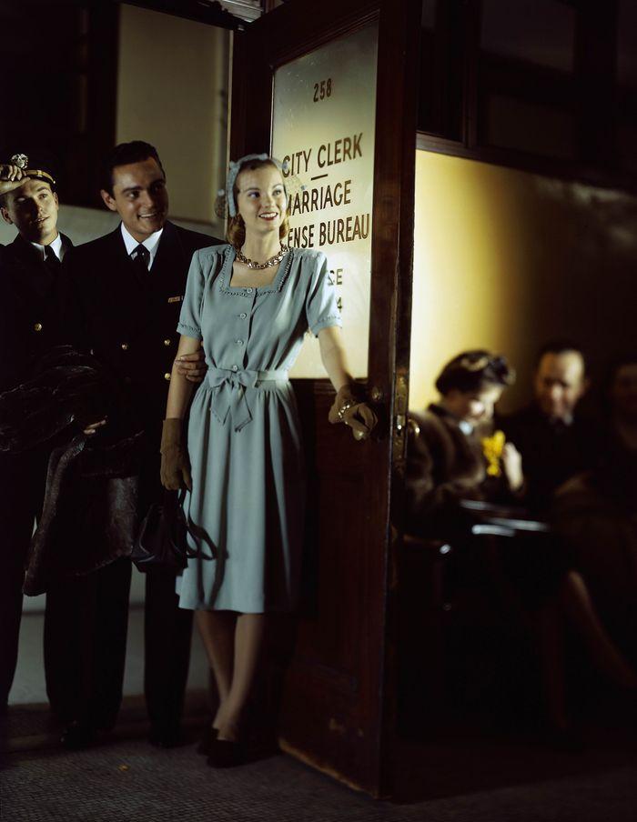 Constantin Joffe для Glamour, 1946 год.