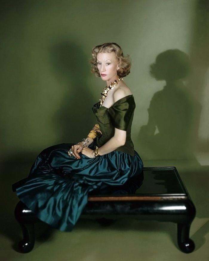 Светская львица Millicent Rogers. Фото Horst P. Horst для Vogue, 1949 год.