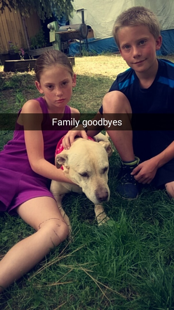 «Семейное прощание».