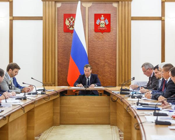НаКубани срабочим визитом находится премьер РФ Д. Медведев