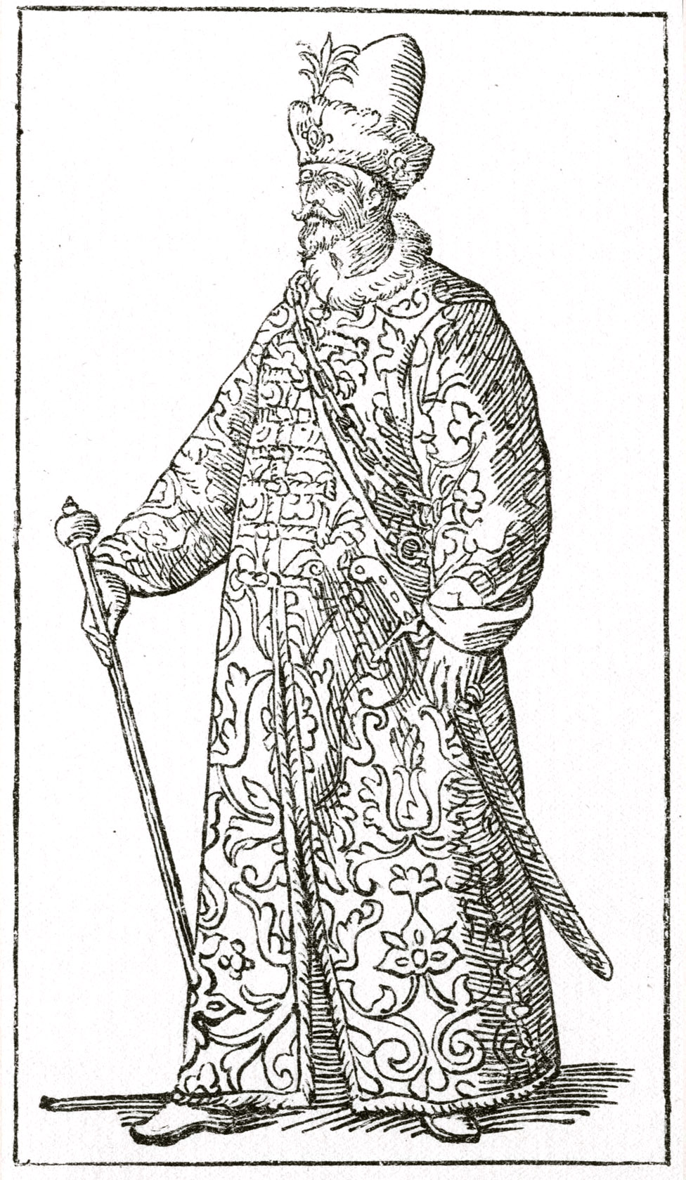 144. Гравюра из книги Чезаре Вечеллио, 1598