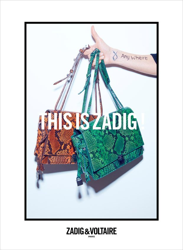 Supermodel Malgosia Bela is the Face of Zadig & Voltaire FW16 Campaign