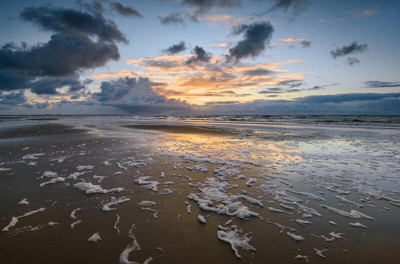 Закат в Wijk aan Zee