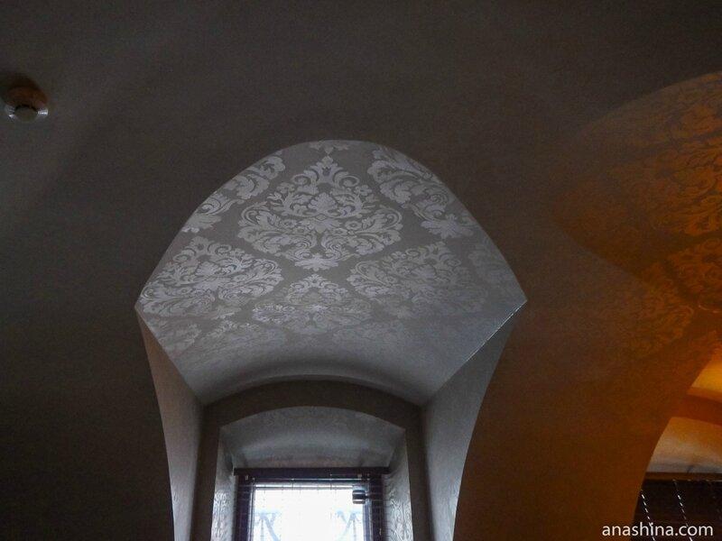 Своды XVIII века в холле I этажа, дом Смирнова