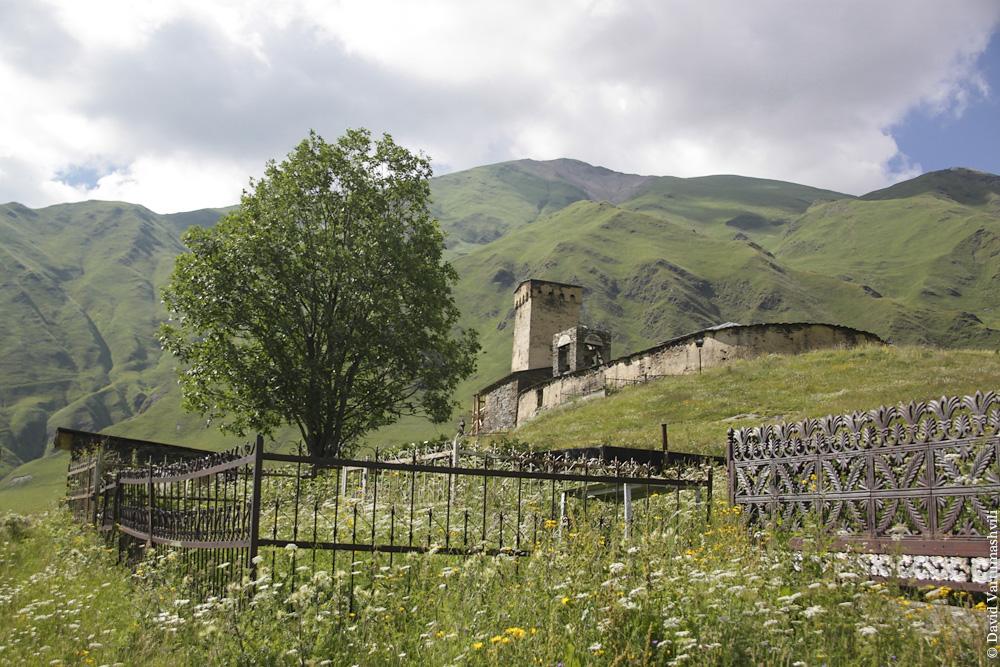 Грузия, Сванетия, Ламария