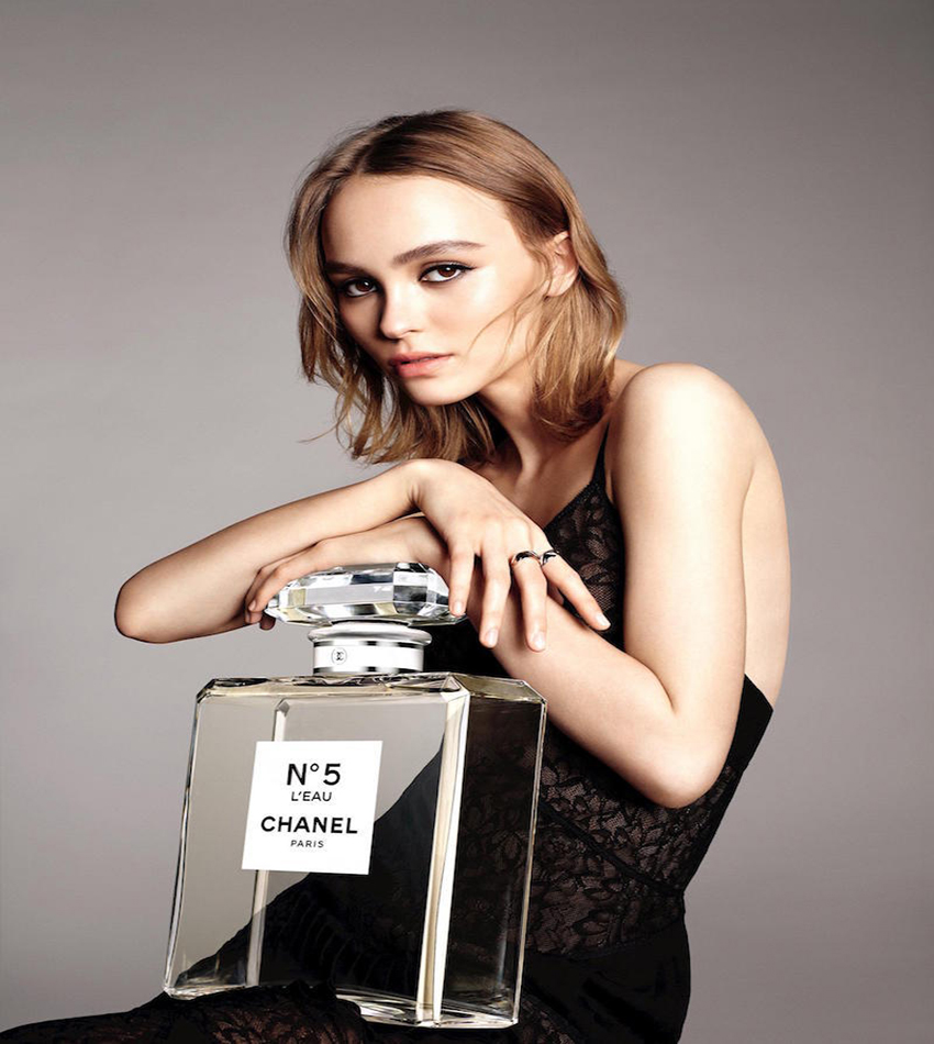 Lily-Rose Depp - Chanel No.5 L'Eau Fragrance