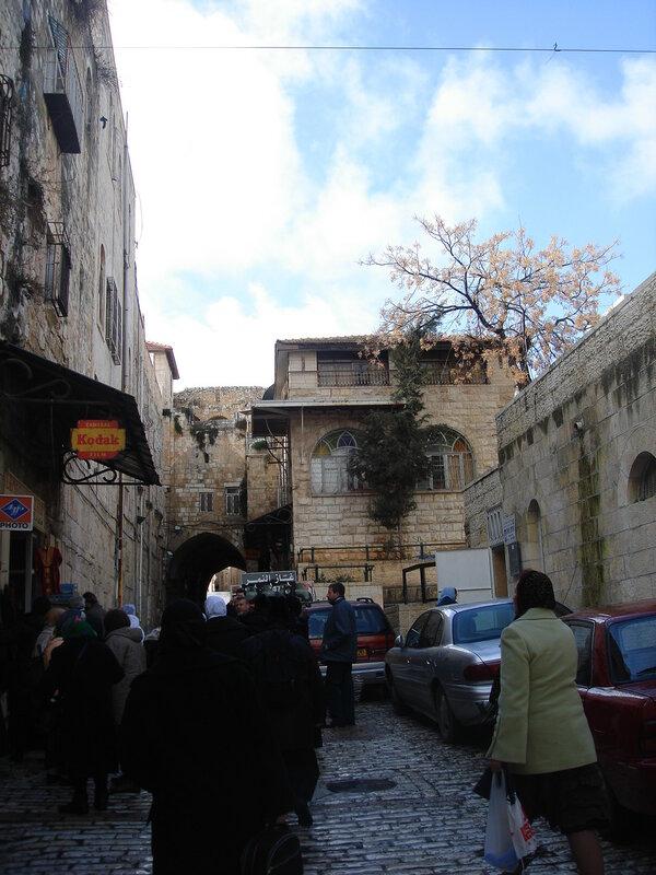 Святая земля, Иерусалим, по крестному пути Спасителя