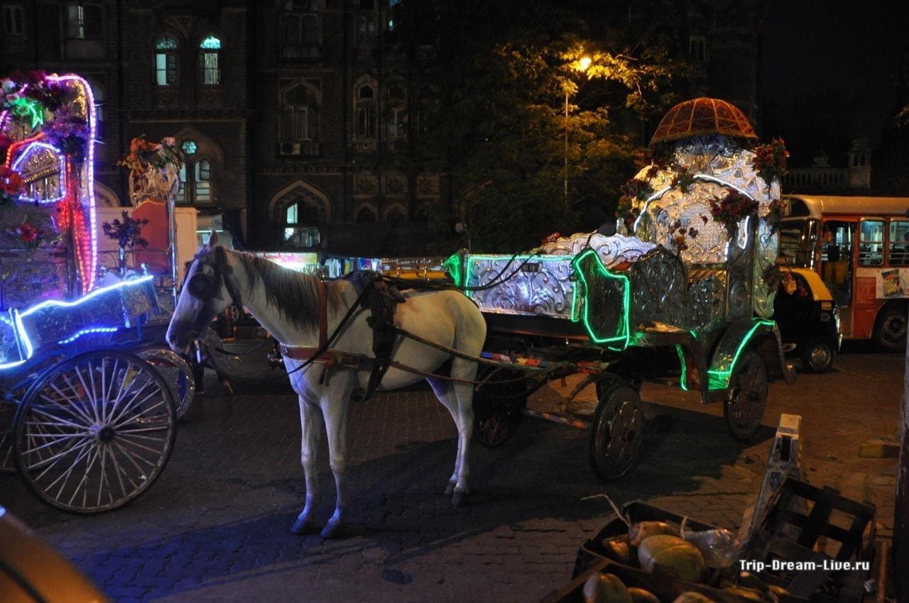 Необычный транспорт в Мумбаи