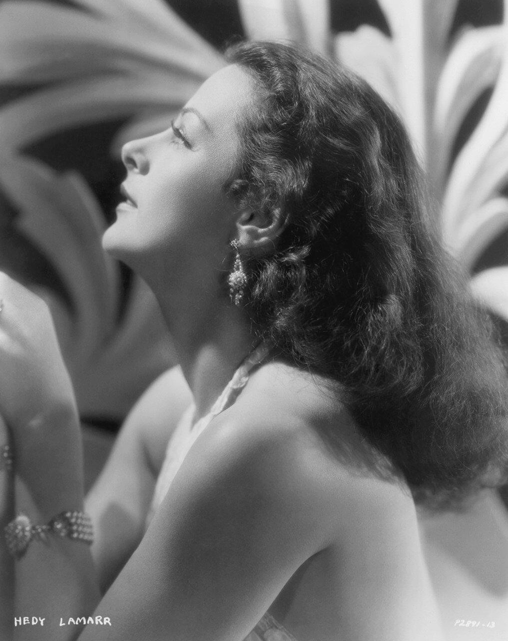 Portrait of Hedy Lamarr